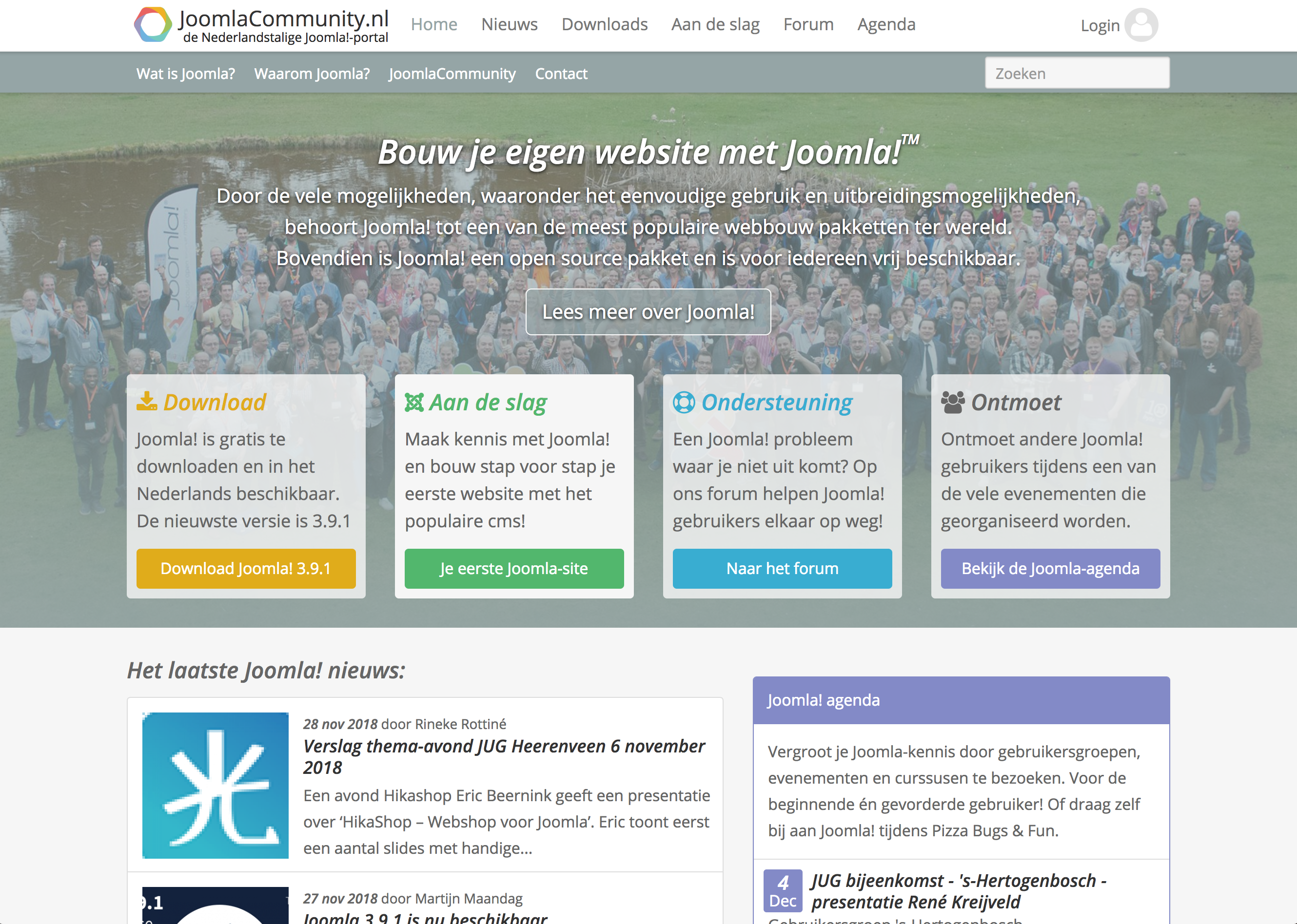 JoomlaCommunity.nl website